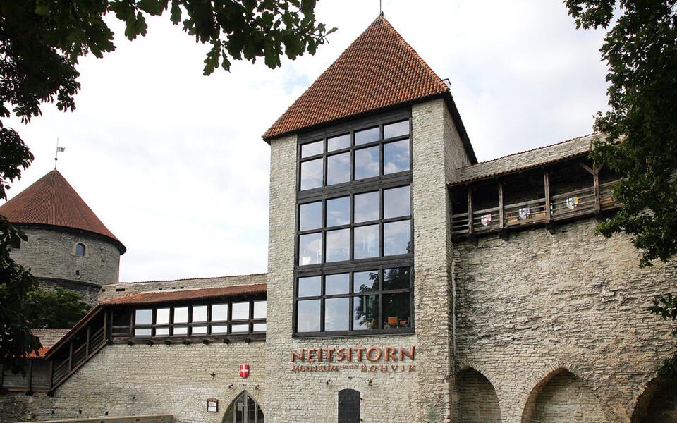 Neitsitorni muuseum ja kohvik.