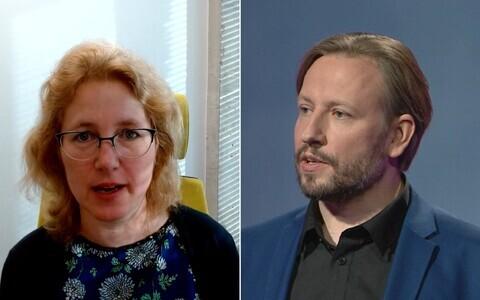 Krista Fischer ja Mario Kadastik