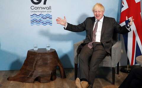 Премьер-министр Великобритании Борис Джонсон.