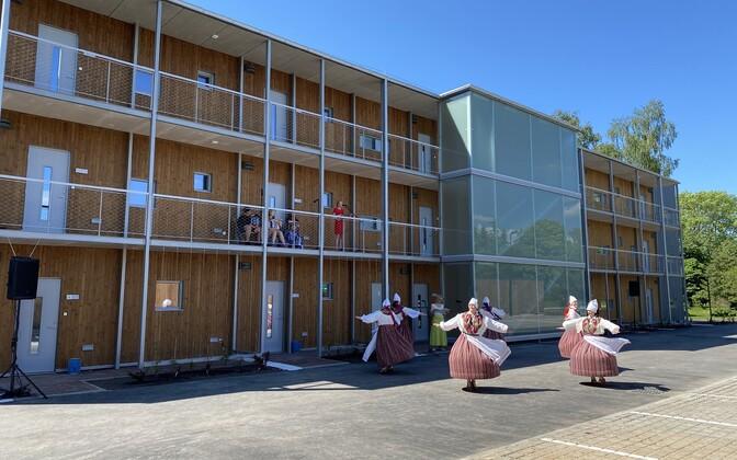 Imaveres avati 1,5 miljonit eurot maksnud 18 korteriga üürimaja.