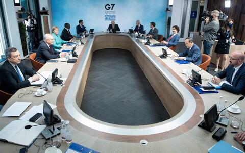 Встреча лидеров G7 в Корнуолле.