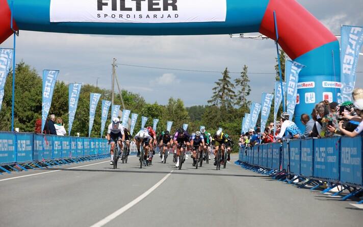 Kuusalu rattaralli sportsõidu finiš