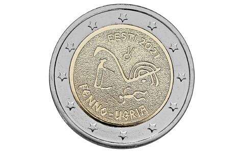 Ringlusesse jõuavad eestlaste kujundatud kaheeurosed soome-ugri mündid