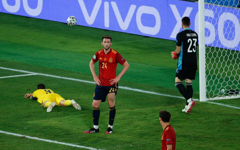 Marcus Berg luhtas mängus Hispaania vastu rootslaste parima võimaluse