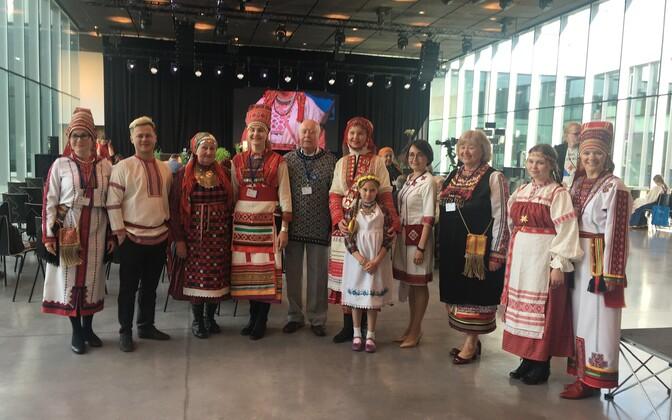 Soome-ugri rahvaste lipud ERM-is