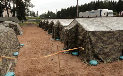 Лагерь в Пабраде.