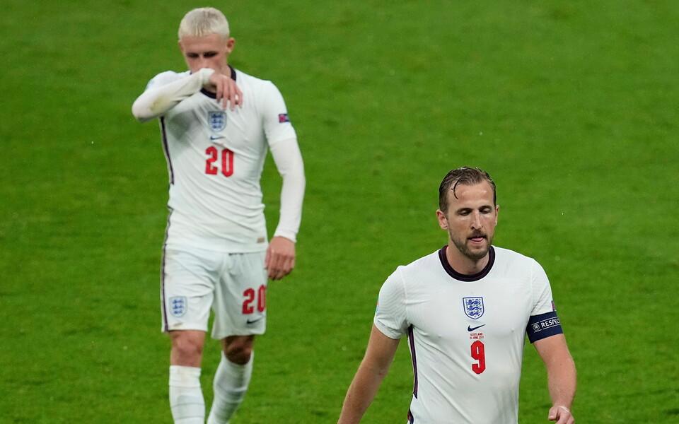 Inglismaa on kahe mänguga löönud vaid ühe värava ning Harry Kane (paremal) on jätkuvalt kuival