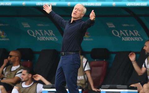 Paneb käsi laiutama - Didier Deschamps võtab punkti vastu, kuid loodeti mõistagi enamat