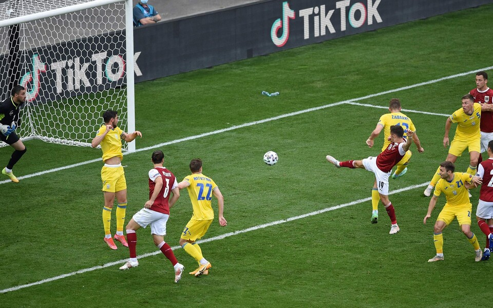 Christoph Baumgartner lõi Austria võidumängus Ukraina üle kohtumise ainsa värava