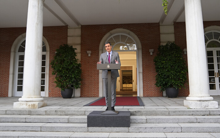 Премьер-министр Испании Педро Санчес-