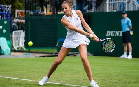 Karolina Pliškova avaringist edasi ei pääsenud