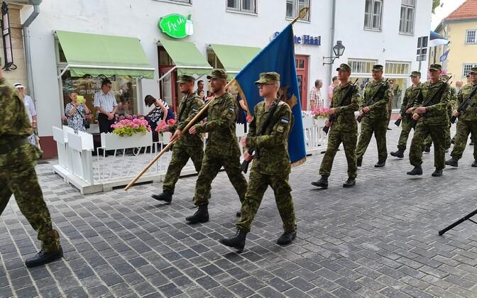Võidupüha tähistamine Kuressaares
