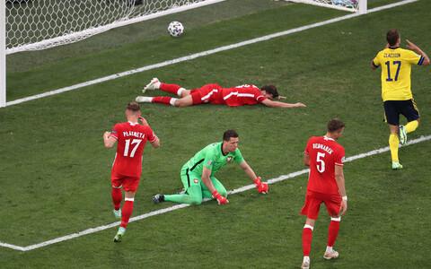 Jalgpalli EM: Rootsi - Poola