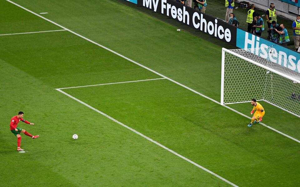 Jalgpalli EM: Portugal-Prantsusmaa