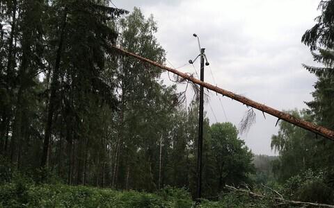 Последствия шторма 23 июня.