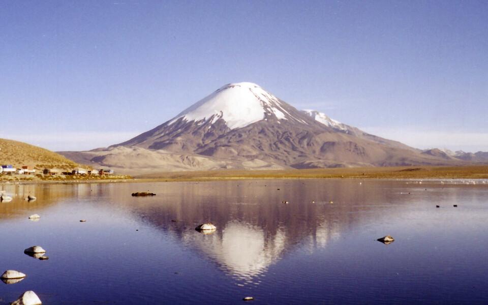 Tšiilis surub Vaikse ookeani idaosa all laiuv Nazca laam end äärtpidi Lõuna-Ameerika laama alla.