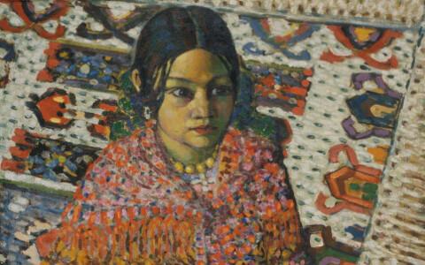 Konrad Mägi. Romatüdruk. 1915.