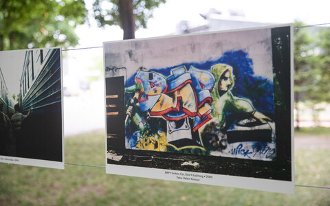 """Tallinna vanakooli grafiti"" näitus Telliskivis"