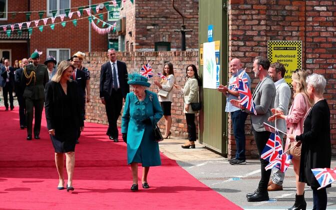 Kuninganna Elizabeth II külastas
