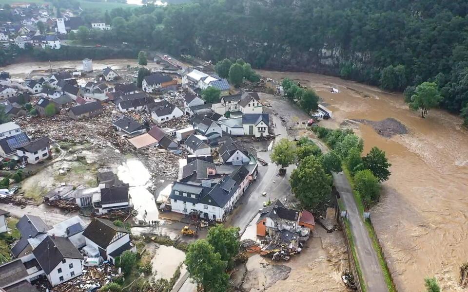 Наводнение в Германии.