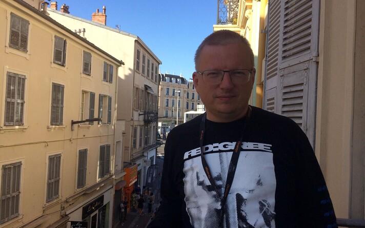 Tristan Priimägi 2021. aasta Cannes'i filmifestivalil