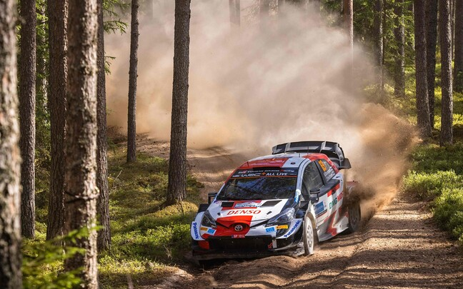 Kalle Rovanperä Rally Estonial