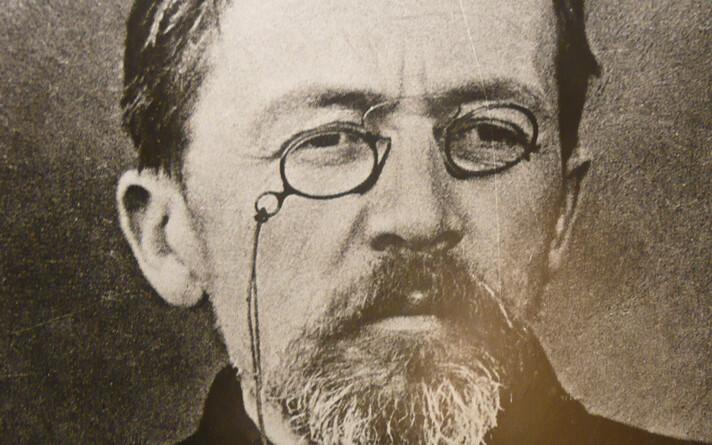 Viimane foto kirjanik Anton Tšehhovist aprillis 1904.