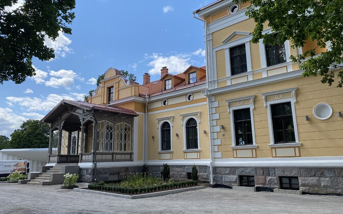 Butiikhotell Schloss Fellin Viljandis.