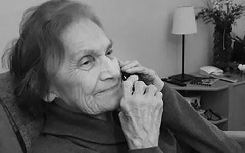 Kunstiteadlane Vilma Reinholm (27.02.1929–15. 07.2021).