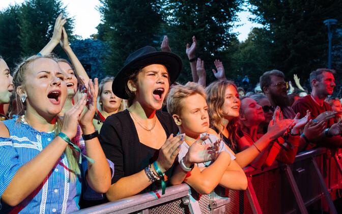 Day three of the 28th Viljandi Folk Festival on Saturday, July 24 2021.