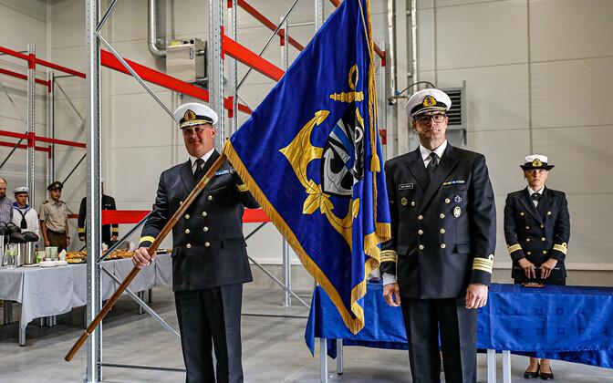 Naval base command handover ceremony Friday, July 30.