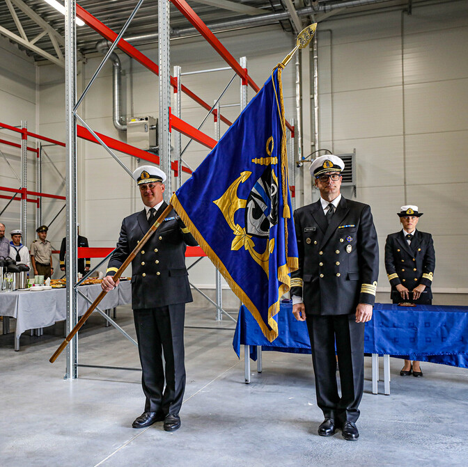 Gallery: Naval base gets new commander ahead of organizational changes