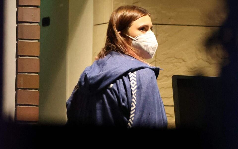 Kristsina Tsimanovskaja Tokyos Poola saatkonnas