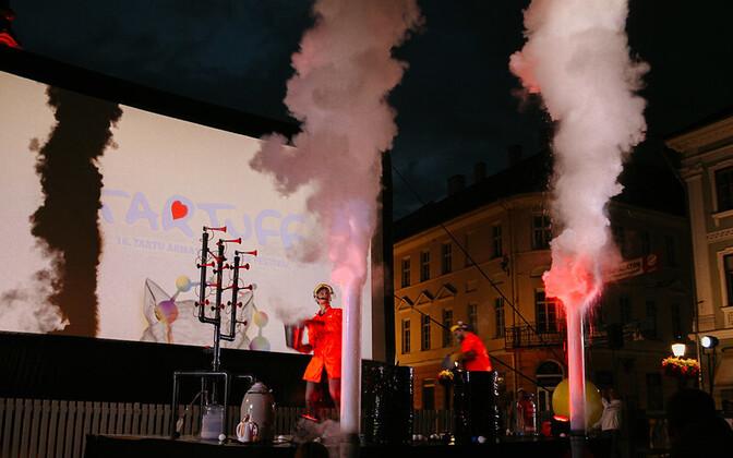 в Тарту открылся фестиваль фильмов о любви Tartuff