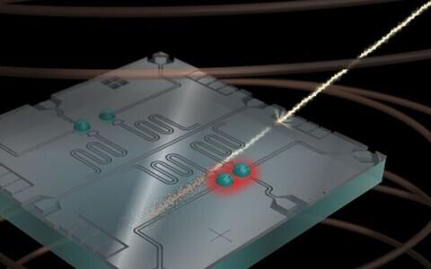 Kvantarvuteid kimbutavad kosmilised kiired.