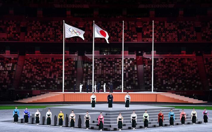 Церемония закрытия летних Олимпийских игр в Токио.