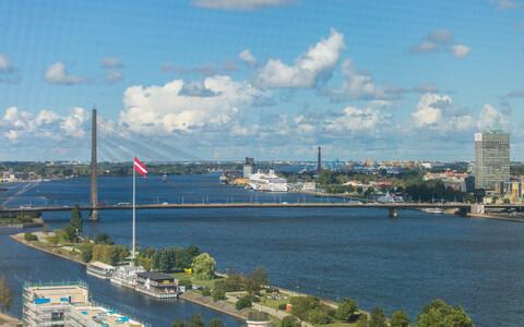Riga skyline.