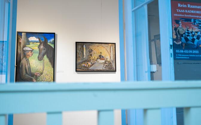 Kastellaanimaja galeriis on avatud Rein Raamatu näitus