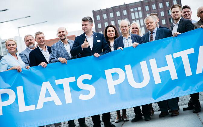 Урмас Рейнсалу выведет отечественников на выборы в Таллинне.