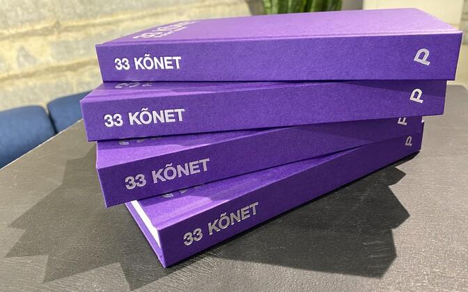 """Paide Teater tähistas laupäeval 3. sünnipäeva raamatu """"33 kõnet"""" esitlusega."""