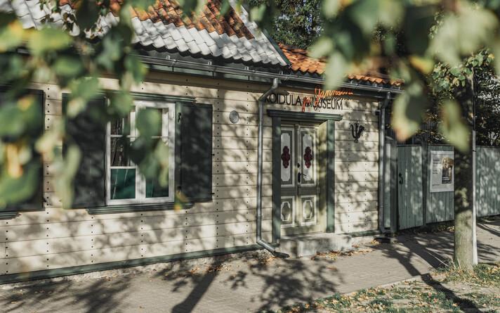 Lydia Koidula muuseumi tänavavaade Pärnus.
