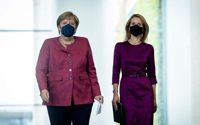 Saksamaa liidukantsleri Angela Merkeli ja Eesti peaministri Kaja Kallase kohtumine Berliinis