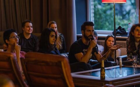 Eesti Üliõpilaskondade Liidu ja Estonishing Eveningsi korraldatud vestlusõhtu