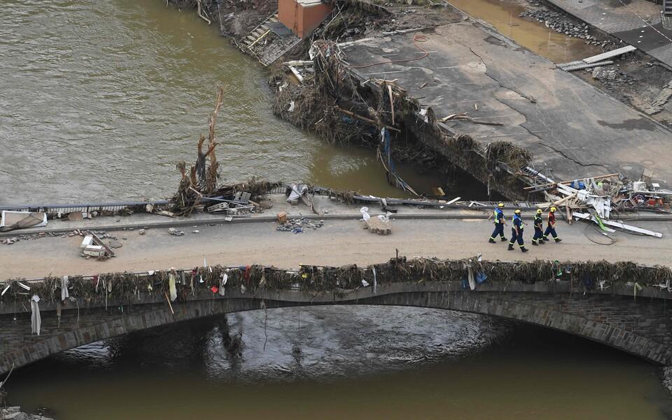 Juuli keskpaiga üleujutuste tõttu hukkus Belgias ja Saksamaal vähemalt 220 inimest.