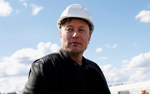 Tesla tegevjuht Elon Musk.