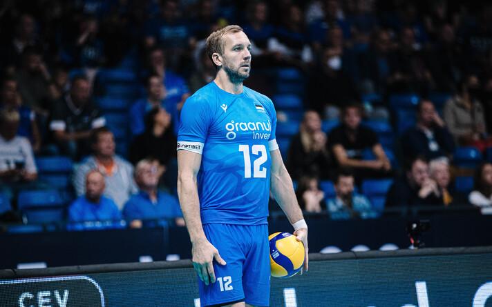 Võrkpalli EM: Eesti - Läti