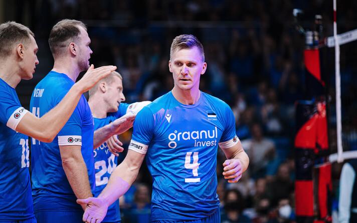 Eesti võrkpallikoondise kapten Ardo Kreek