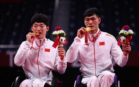 Китайские спортсмены завоевали больше всего наград на Паралимпиаде в Токио.