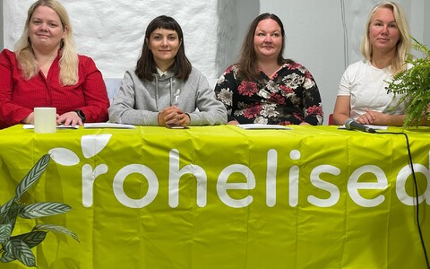 Roheliste Tallinna programmi tutvustamine.