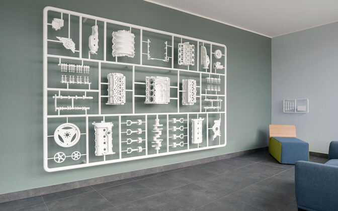 Karel Koplimetsa installatsioon